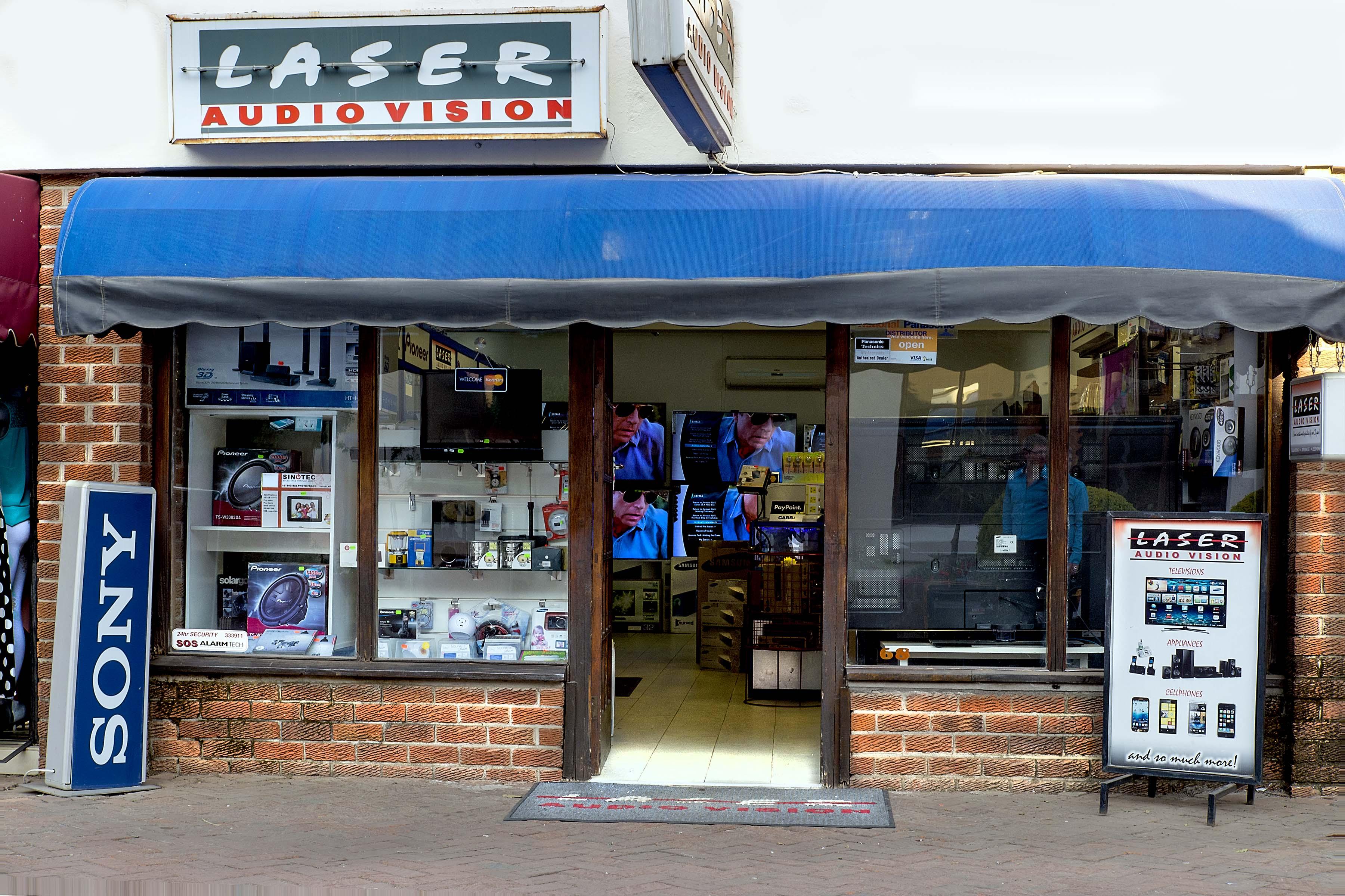 Laser Audio Vision